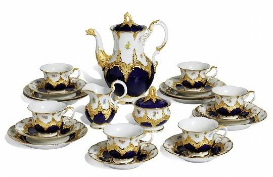 マイセン陶器 B-Form コーヒーセット